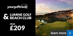 Your Golf Travel - Lumine Golf & Beach Club